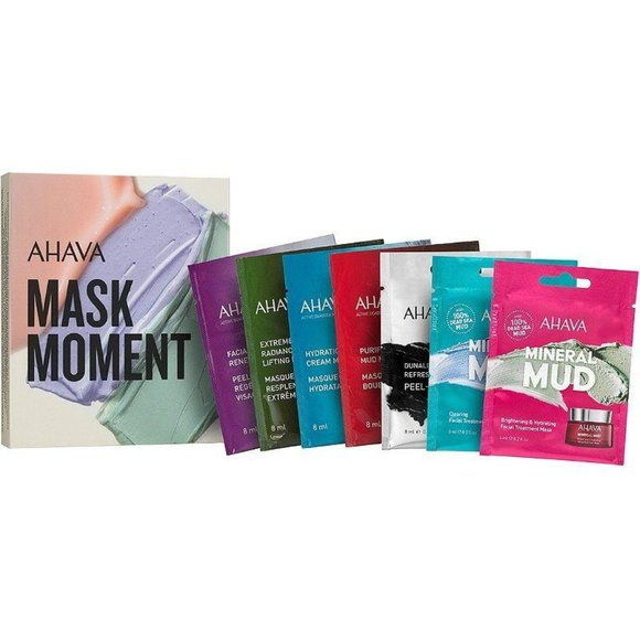 AHAVA Other - Ahava Mask Movement Set of 7 Skincare Set NEW